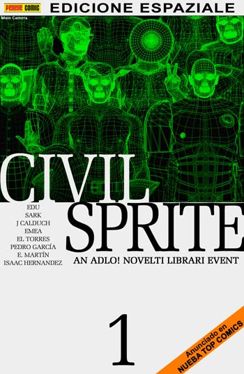 Civil Sprite Sketch Cover