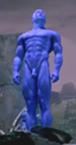 Dr Manhattan Blue Cock 57