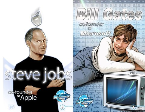 Steve Jobs Bill Gates comic.jpg