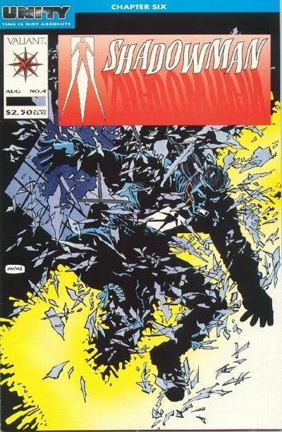 Cover to Shadowman #4 by Frank Miller|Unity Chapter Six|Covers|lklkls