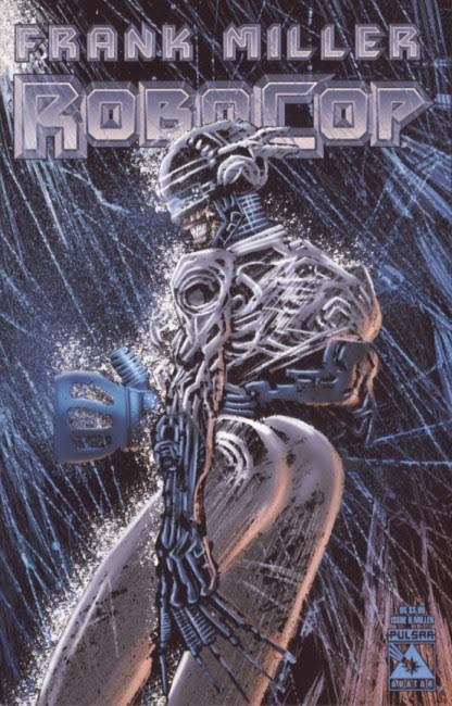 Cover Robocop #8|Is that a female RoboCop?|Covers|female
