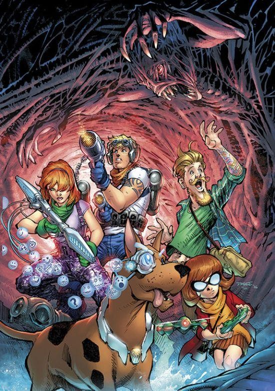 scooby doo jim lee