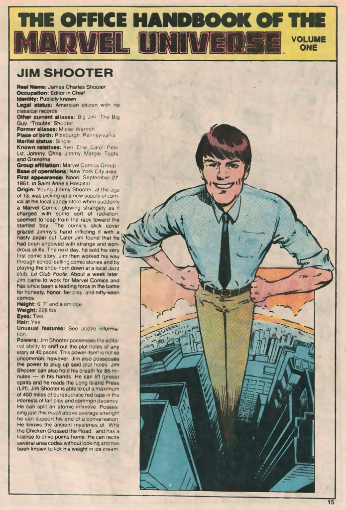 1983-jim-shooter-entry-in-the-marvel-handbook