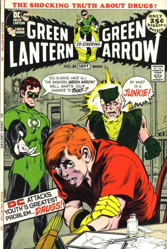 Green Lantern Green Arrow 85