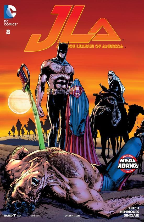 Justice League America 8
