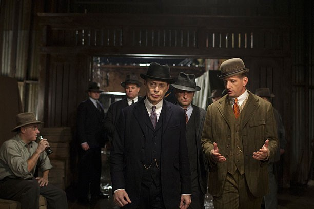 HBO's Boardwalk Empire season 4 2013 Characters: Steve Buscemi- Nucky Thompson Shea Whigham- Eli Thompson Jack Huston- Richard Harrow Paul Sparks- Mickey Doyle Steve Beauchamp- Sid the Bodyguard