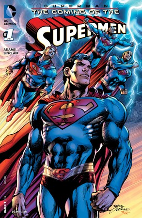 Superman - The Coming of the Supermen (2016-) 001-000