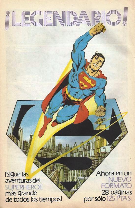 superman legendario