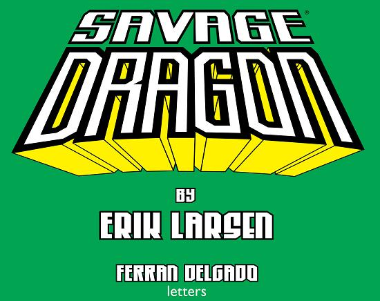 Savage Dragon 231 credits