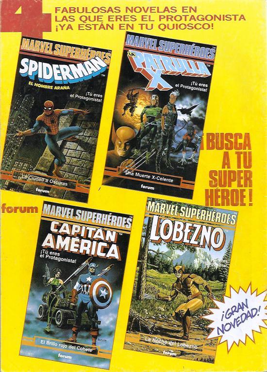 4 fabulosas novelas