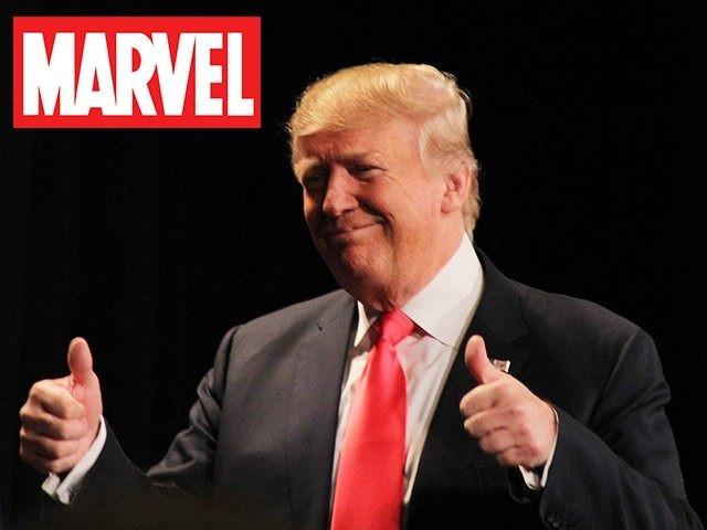 Trump-Marvel
