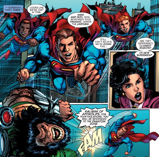 Superman - The Coming of the Supermen (2016-) 001-008